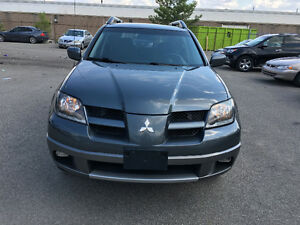 2004 Outlander SUV, SAFETIED, E TESTED, NO ACCIDENT, WARRANTY