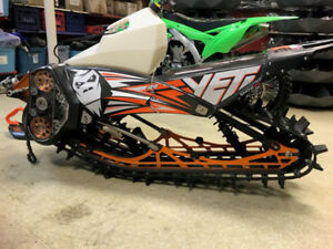 NEW!! 2017 YETI SNOW MX SMX120 KTM
