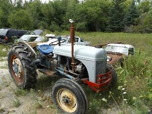Mid 1940s Ford Tractor