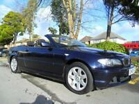 BMW 318 2.0 2003 MY Ci CONVERTIBLE COMPLETE WITH M.O.T HPI CLEAR INC WARRANTY