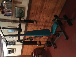Get Fit.  Universal Home Gym