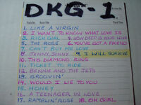 KARAOKE DKG DK - $15.00 EACH