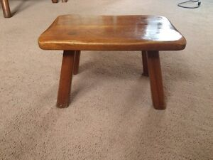 Solid Maple Stool by Cushman, Vermont London Ontario image 2