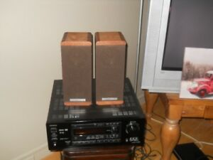 onkyo audio video receiver and koss speakers