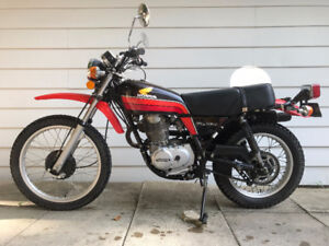Honda XL350 Enduro Dual-Sport with Ownership