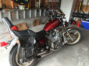 Selling a 1984 Virago in excellent condition.