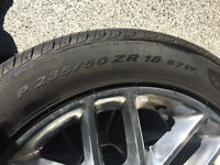 2013 Mustang Tires And Rims. Pirelli 18 inch