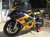 Gsxr 600 k2 52 reg mint condition low miles