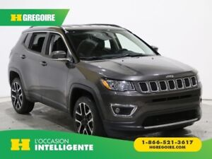 2017 Jeep Compass Limited 4WD AUTO AC GR ELECT MAGS CAMERA NAVI