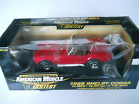 1966 Shelby Cobra Diecast American Muscle 1:18
