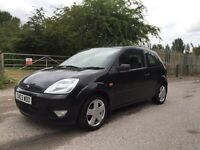 Ford Fiesta zetec in metallic black 1 year Mot