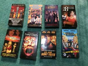 Lot de 80 VHS
