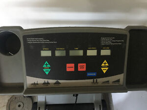 Treadmill with all the bells and whistles