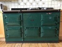Aga Cooker 4 oven - Green fully working and serviced
