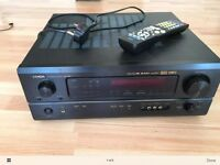 DENON AVR-1803 6.1 Channel A/V Surround Receiver Black With original remote.