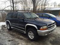 2002 Dodge Durango slt plus VUS