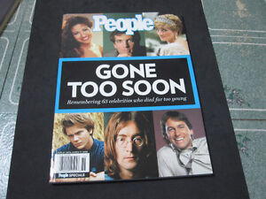 """People Magazine-Special Edition-""""Gone Too Soon""""--MINT CONDITION"""