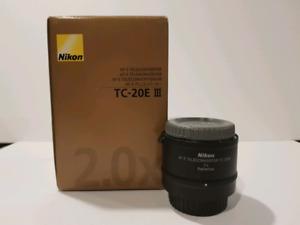 Nikon AF-S 2.0x Teleconverter TC-20E III