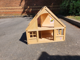 ELC Wooden dolls house - used