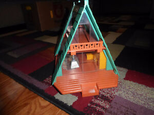 Vintage Fisher Price A-Frame House Peterborough Peterborough Area image 3