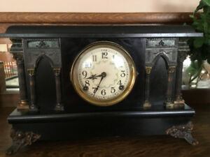Beautiful Antique Mantle Clock made by The Sessions Clock Co.