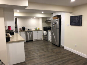 2 Bedroom basement with high end finishes