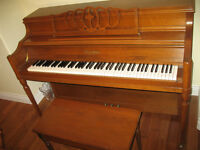 Recently tuned piano for sale