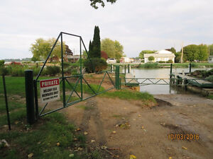X-Wide (116ft) waterfront canal corner lot Lake St-Clair! Windsor Region Ontario image 6