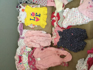 0-3months baby girl clothing