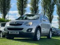 2013 Vauxhall Antara 2.2 EXCLUSIV CDTI 4WD S/S 5d 161 BHP Hatchback Diesel Manua
