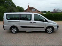 Peugeot Expert TAXI Patient Transport 6 Seat 2 Wheelchair Disabled Access WAV