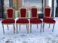 4 chaise antique