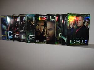Coffret DVD CSI Les experts saison 1 a 9