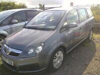 07 Vauxhall/Opel Zafira 1.9CDTi Life ** SALE **