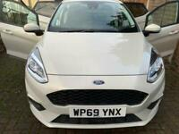 2019 FORD FIESTA 1.1 TREND 5DR WITH ST LINE BODY KIT AND WHEELS PEARL WHITE ULEZ