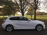 2012 62 BMW 1 SERIES 1.6 116I M SPORT 3D AUTO 135 BHP