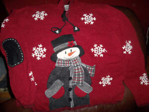 Red Christmas sweater ,Size M
