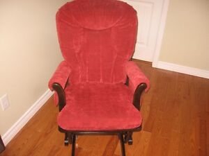 Dutailier rocking chair, glider