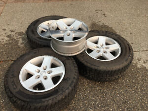 Factory Jeep rims with sensors