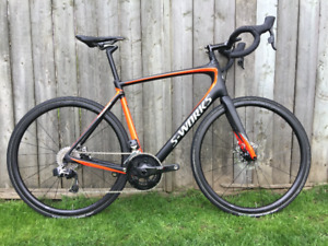 2019 Specialized S-Works Roubaix Sram E-Tap Red