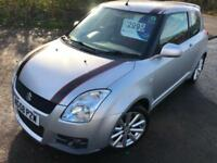 SUZUKI SWIFT 1.6 SPORT £20 WEEK NO DEPOSIT 17'' ALLOYS CD AIR CON 3DR 2008