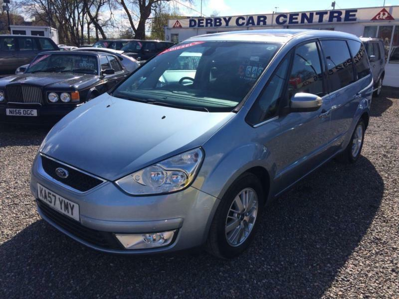 2008 ford galaxy 2 0 tdci ghia 7 seater diesel panoramic. Black Bedroom Furniture Sets. Home Design Ideas