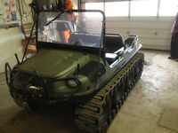 ARGO AVENGER 8X8 WITH TRACKS TOP WINDSHIELD