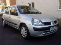 Renault Clio 1.2 16V EXPRESSION QS5 (aluminium/silver) 2005