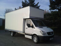 Man and van removal service**£20 p/h 24/7....on short notice