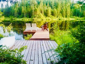 Chalet to Rent COTTAGE:hiking,canoe,kayak,fishing,special occ