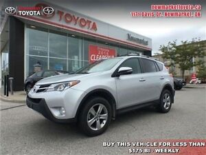 2015 Toyota Rav4 XLE   - trade-in - Certified - $87.40 /Week