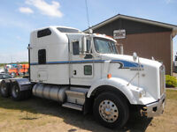 2004 KENWORTH T800 SUPER 40 REARS AND WET KIT