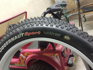 2 Motorcycle Tires