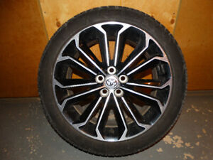 """Set of Toyota Corolla S 17"""" Wheel Rims and Tires"""